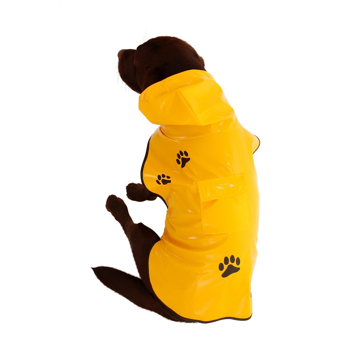 Capa de Chuva Vinil Amarela - Super Pet P