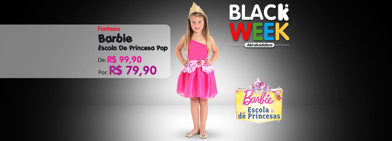 Black - Barbie escola