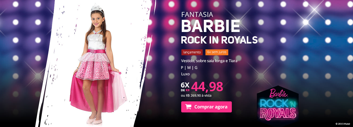 Barbie Rock in Royals