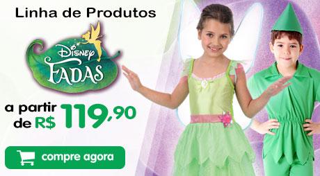 Fantasia Sininho Disney partir 149,90