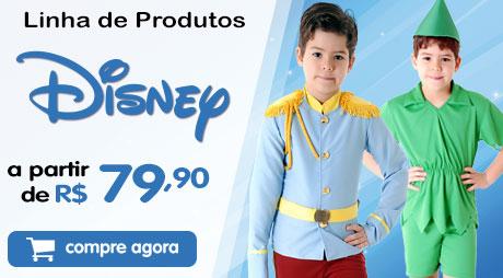 Fantasias Disney Peter Pan e Príncipe a partir de 79.90