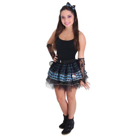 fbad6e67b4 Kit Frankie Saia e Tiara Infantil - Monster High G