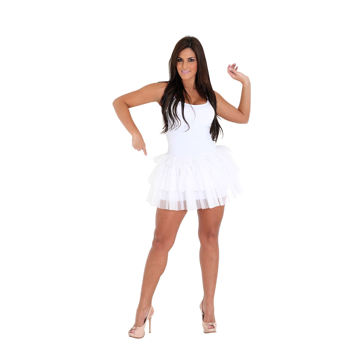 Vestido Adulto Branco - Make Your Own PP