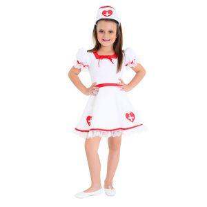 Imagem da fantasia infantil de enfermeira