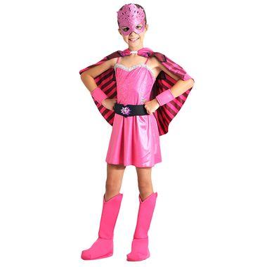 9daceb18fc Fantasia Barbie Super Princesa Infantil Luxo P