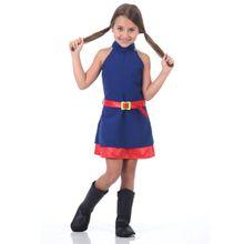 Foto de garota com fantasia da Luna infantil alta qualidade