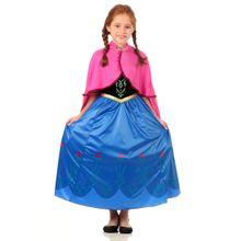Foto da fantasia infantil da Anna Frozen na Abrakadabra