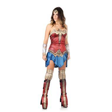 20d3c602c Fantasia Mulher Maravilha Adulto - Liga da Justiça PP