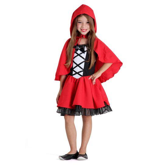 f00abb152f9d6 Fantasia Chapeuzinho Vermelho Infantil Luxo P
