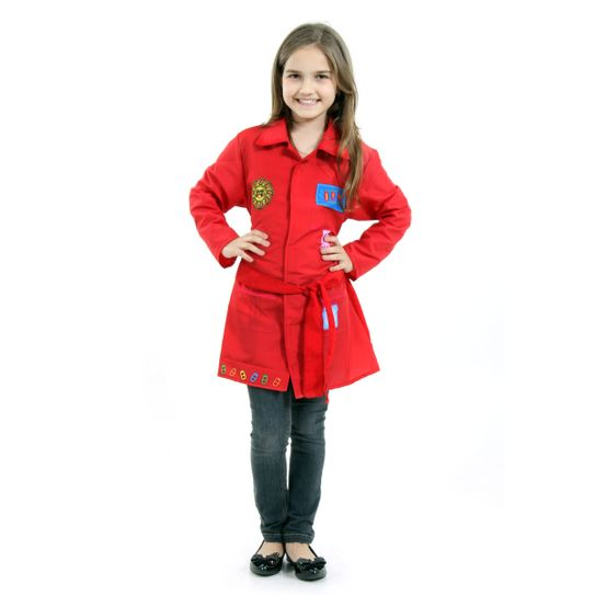 4dd9a45721 Fantasia DPA Infantil Vermelho Pop - Mila P