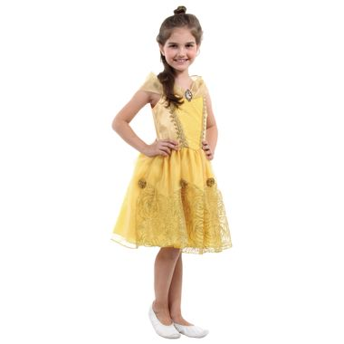 3763cf8b7 Fantasia Bela Infantil Super Luxo - Disney Princesas P