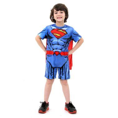 56cf994f7 Fantasia Super Homem Infantil Curto - DC P