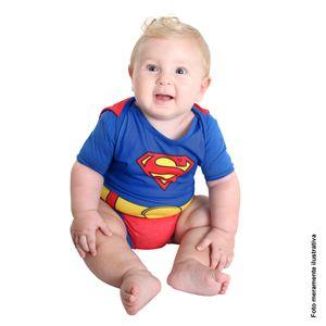 Fantasia Body Super Homem Bebê Verão