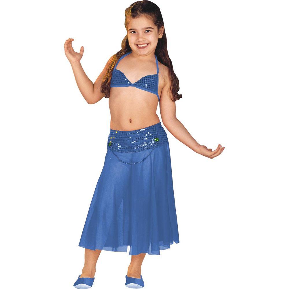 533d37a96e Fantasia Infantil Odalisca Luxo
