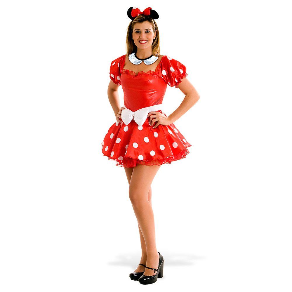 75aa4e9cb5 Fantasia Minnie Adulto - Heat Girls - Abrakadabra