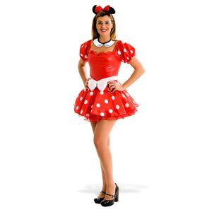 Fantasia Minnie Adulto - Heat Girls