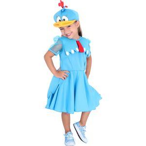 Imagem do vestido infantil Galinha Pintadinha