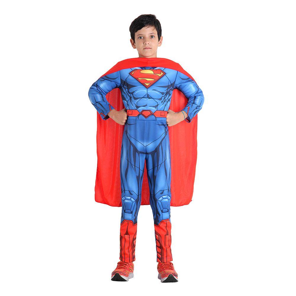 4ccbede5f5be18 Fantasia Super Homem infantil incrível - Abrakadabra