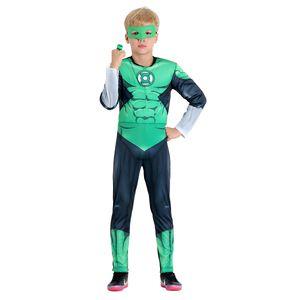 Imagem da fantasia infantil do Lanterna Verde