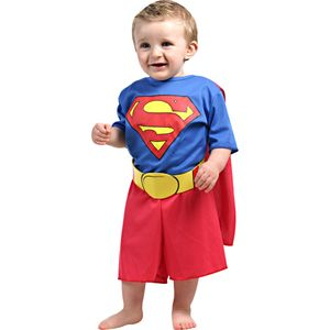 Imagem de bebê com linda fantasia Super Homem