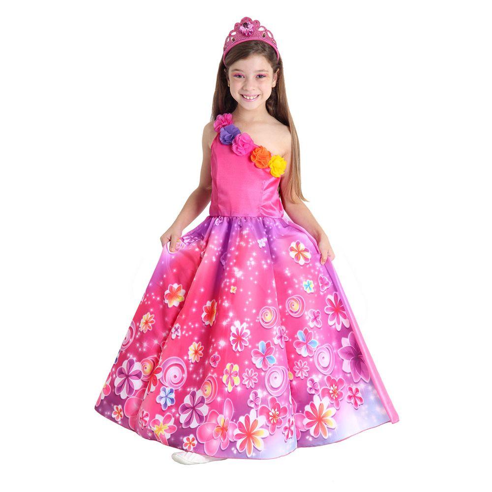 f9d4d7816b Fantasia Princesa Luxo - Barbie e o Portal Secreto