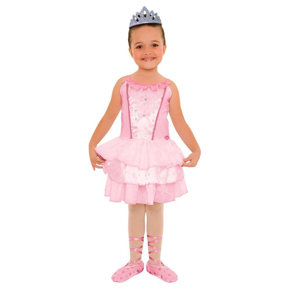 a426dff690 Fantasia Barbie Quero Ser Bailarina Luxo