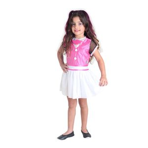Fantasia Draculaura Infantil Pop - Monster High