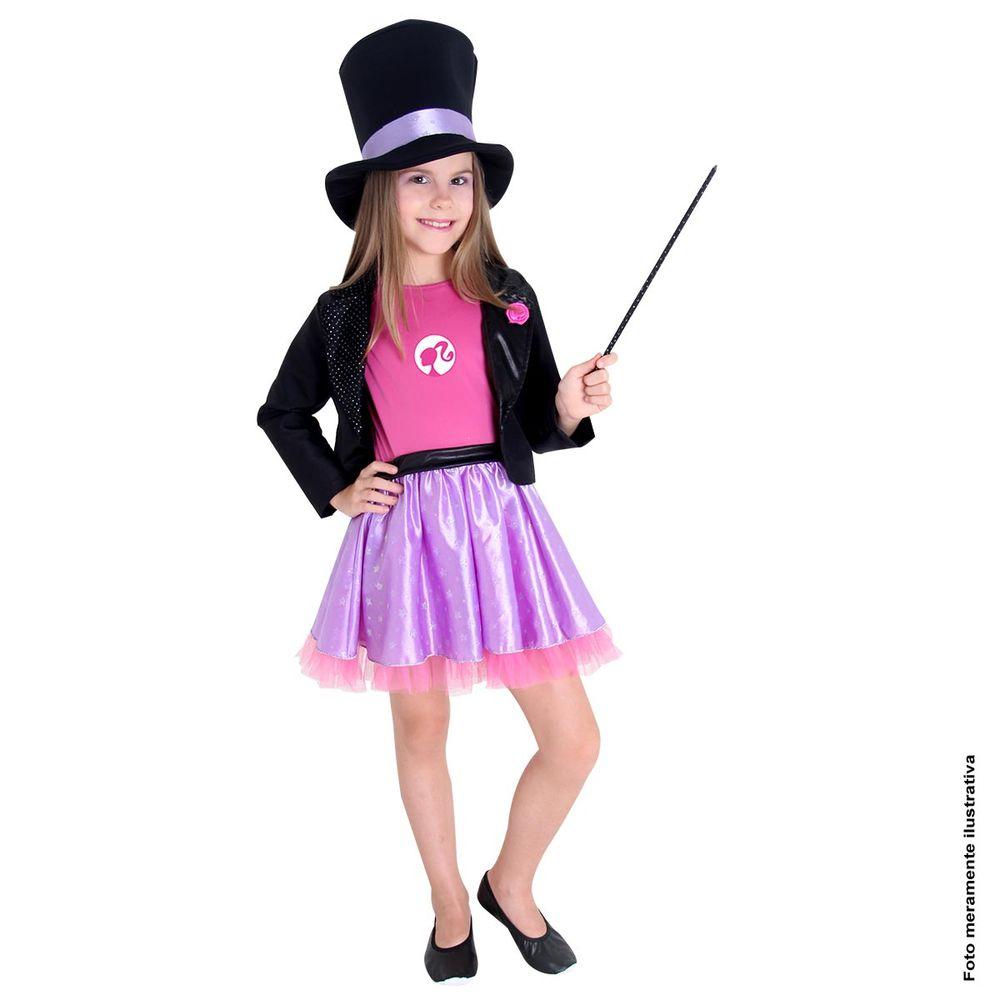 ac5fe1213d Fantasia Barbie Quero Ser Mágica