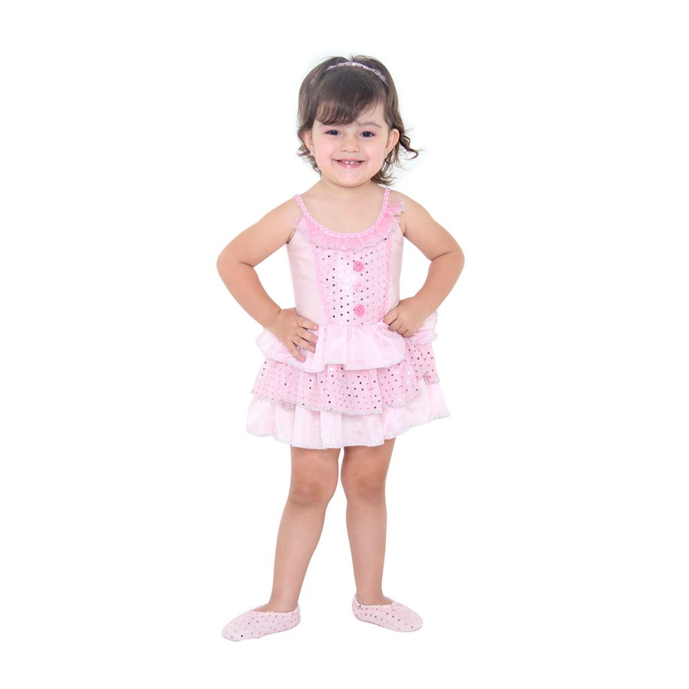 64aace201f Fantasia Bailarina Bebe Luxo - Abrakadabra