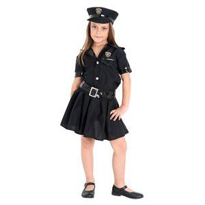 Imagem da fantasia policial para meninas na nossa loja online