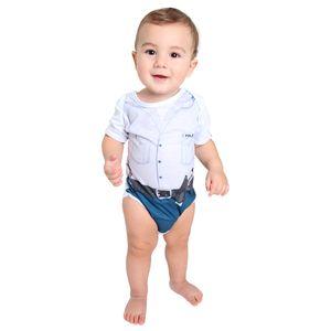 Fantasia Body Policial Bebê Verão