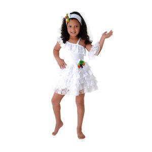 Foto de menina com fantasia infantil de bailarina
