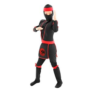 Foto de fantasia infantil ninja para meninos e meninas