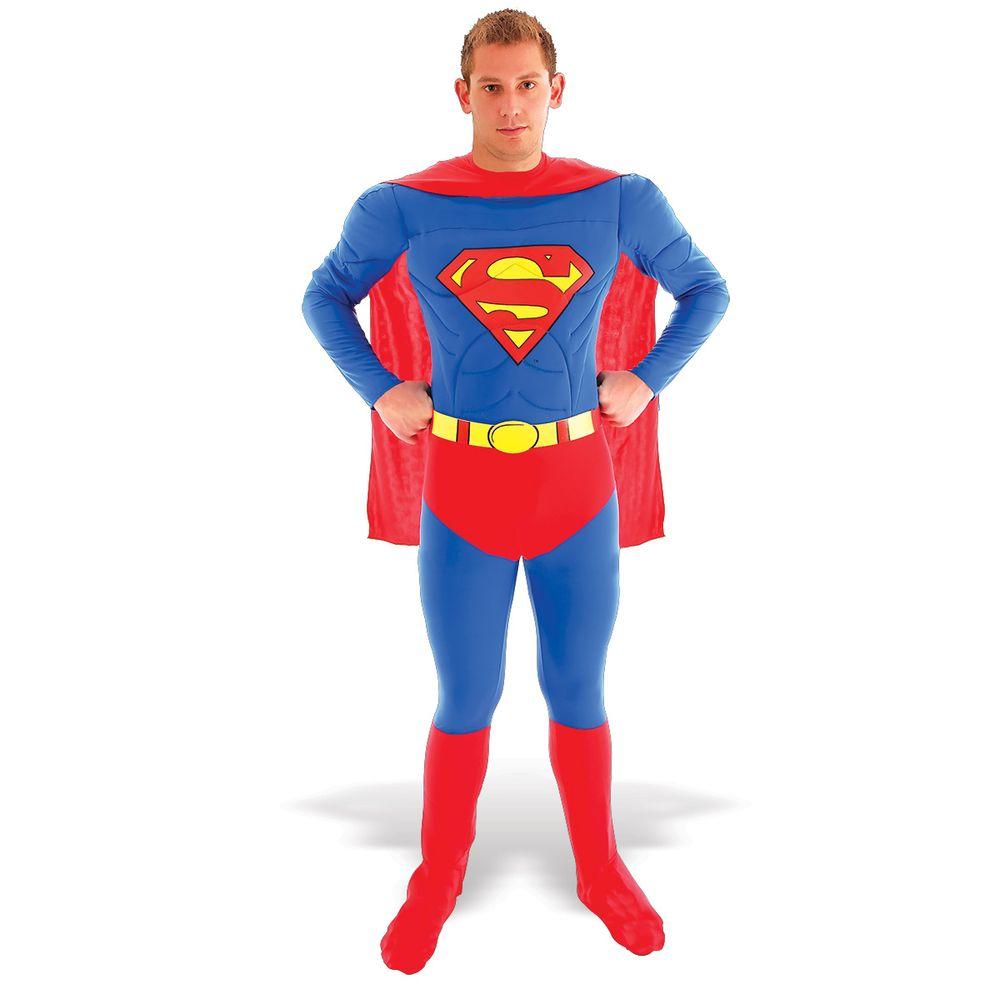 374ee250e1d111 Fantasia Super Homem Peitoral   Abrakadabra - Abrakadabra