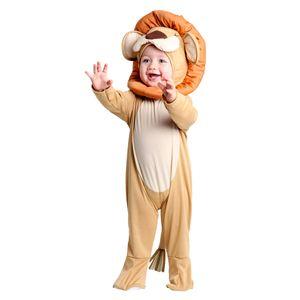 Foto da lindíssima fantasia leão bebê para meninos e meninas