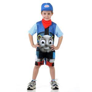 Fantasia infantil trem Thomas para meninos