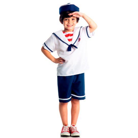 Imagem de menino com fantasia infantil de marinheiro