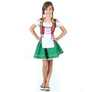 Imagem da fantasia infantil alemã para menina na AbraKadabra