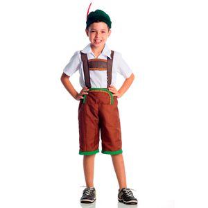 Foto da fantasia infantil Alemão para festas