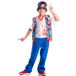 Imagem da fantasia para menino hippie infantil