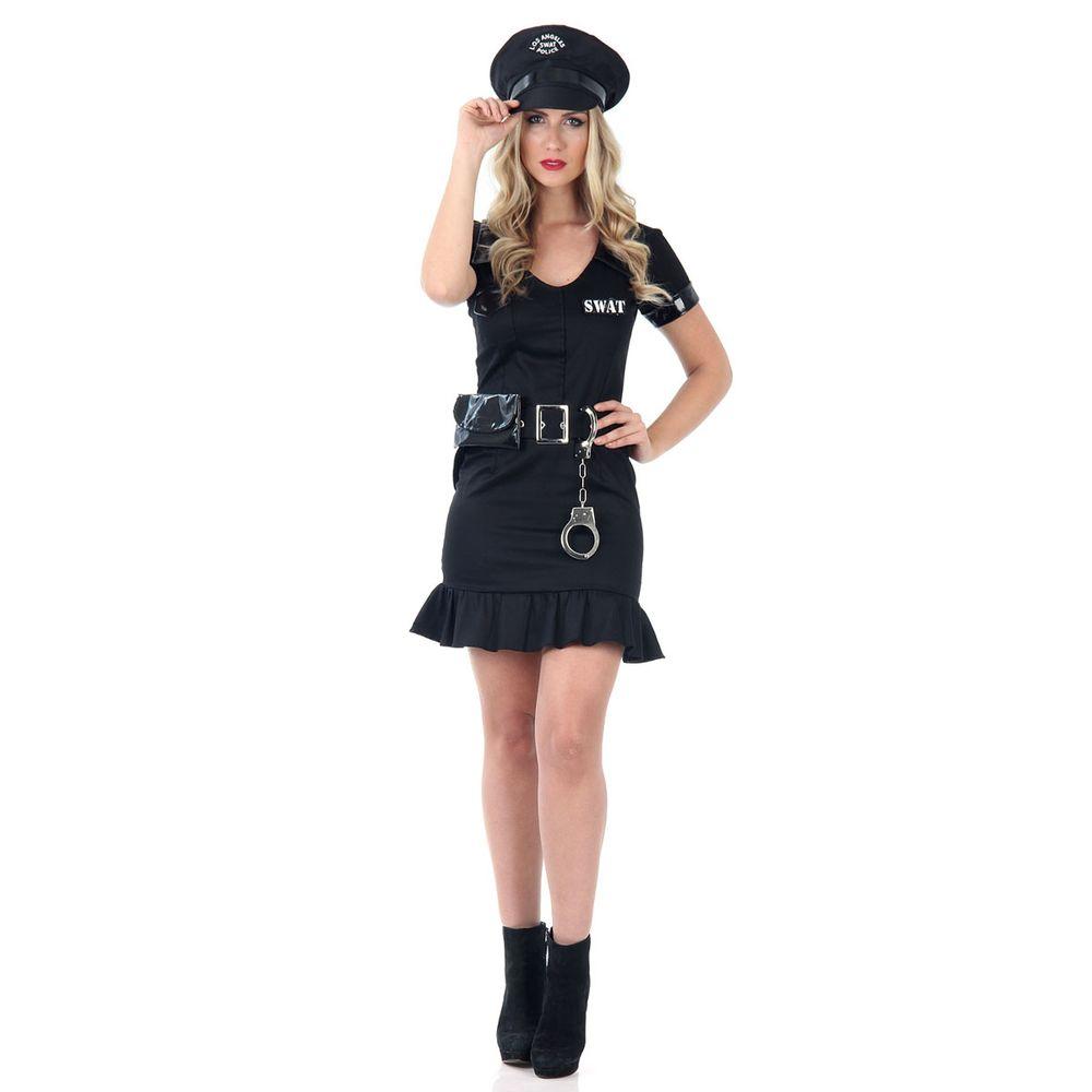 73ac5dcdc Fantasia Policial Feminina com Saia - Abrakadabra - Abrakadabra