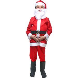 Foto de menino com fantasia infantil do Papai Noel