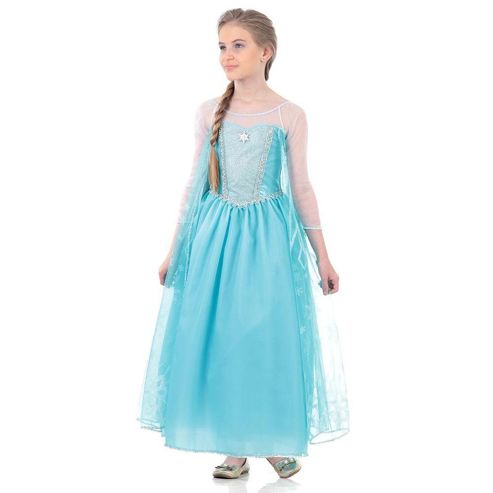 Fantasia Frozen Elsa Luxo Abrakadabra Abrakadabra