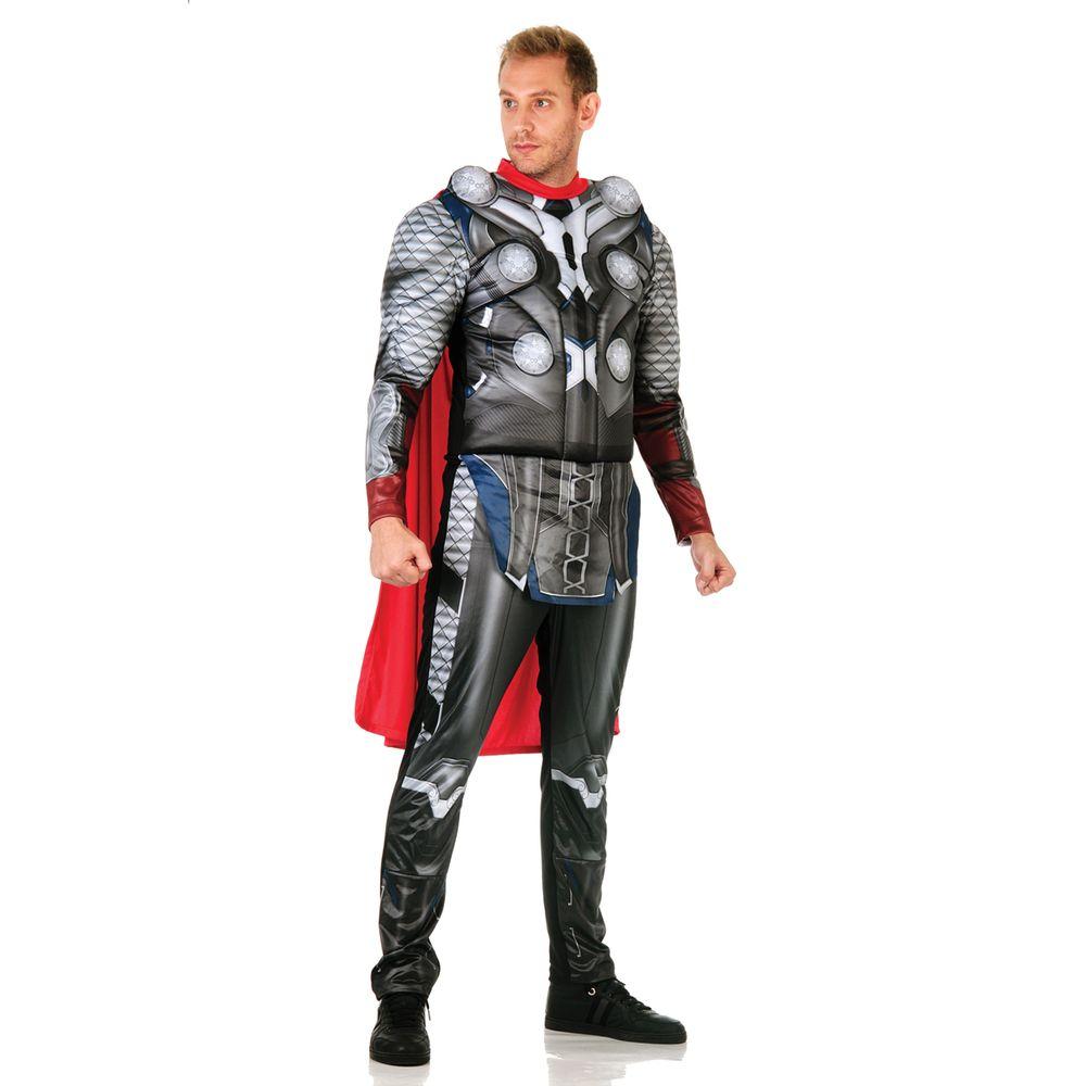 2321505f6ad695 Fantasia Thor Adulto - Vingadores | Abrakadabra - Abrakadabra