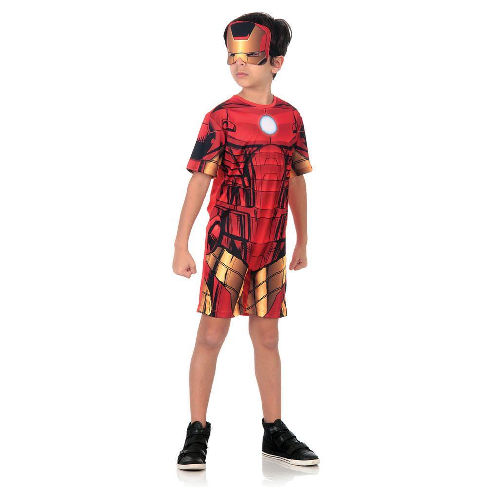 9d584eff580b58 Fantasia Homem de Ferro infantil sensacional - Abrakadabra