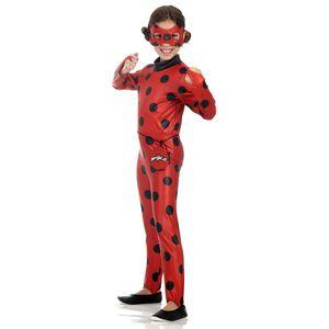 Linda fantasia infantil personagem Lady Bug
