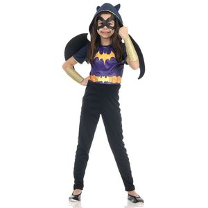Fantasia Batgirl Infantil - Super Hero Girls