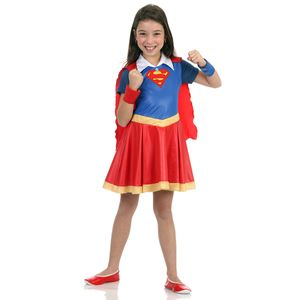 Fantasia Super Mulher Infantil - Super Hero Girls