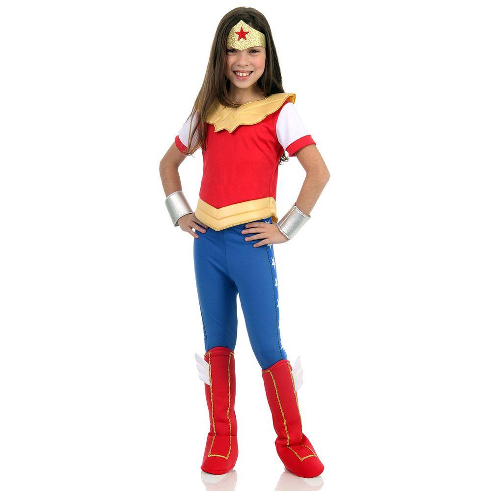 82dca716dce6a4 Fantasia Mulher Maravilha - DC Super Hero Girls   Abrakadabra ...