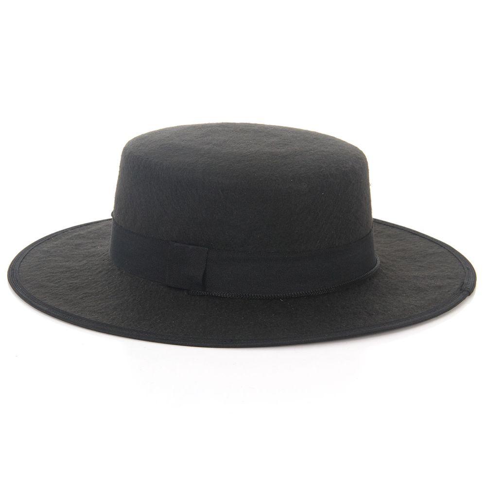 Chapéu Zorro - Preto  d1ba0897a19
